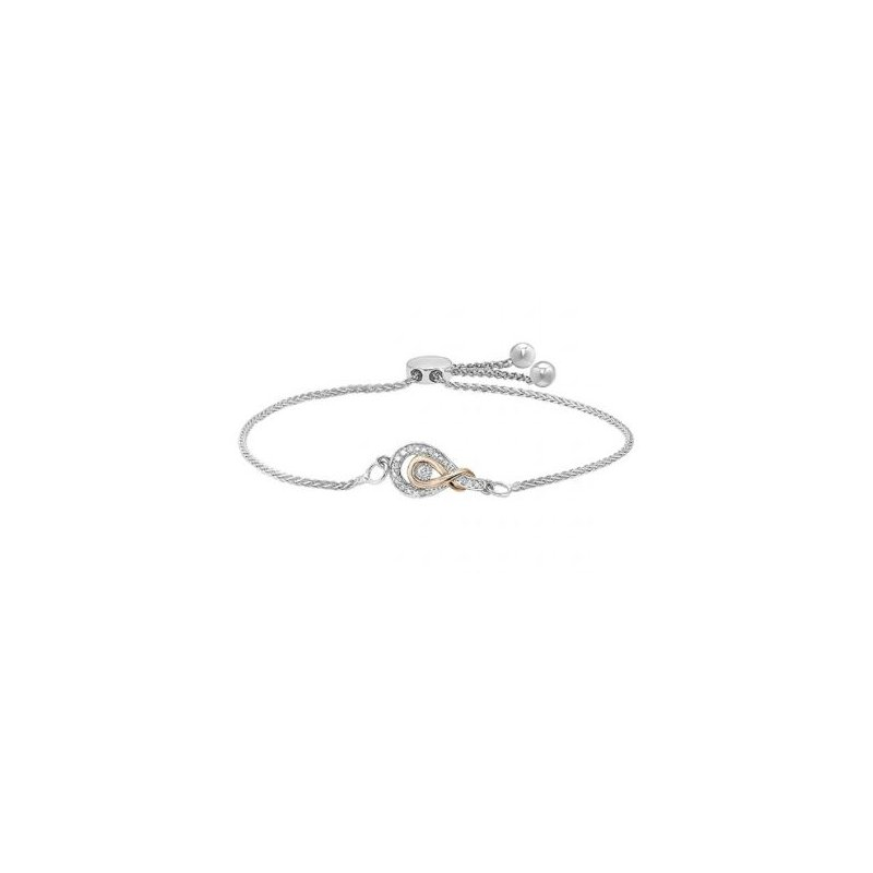 Kelley Collection  Diamond Bolo Bracelet