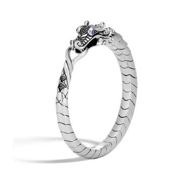 Naga Bracelet with Black Sapphire & Black Spinel