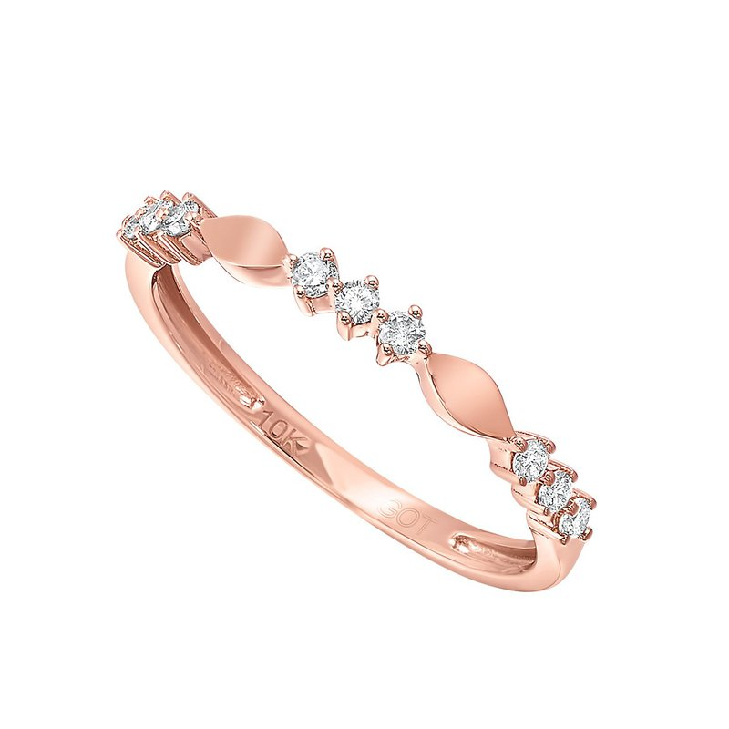 Kelley Collection  Diamond Stackable Band
