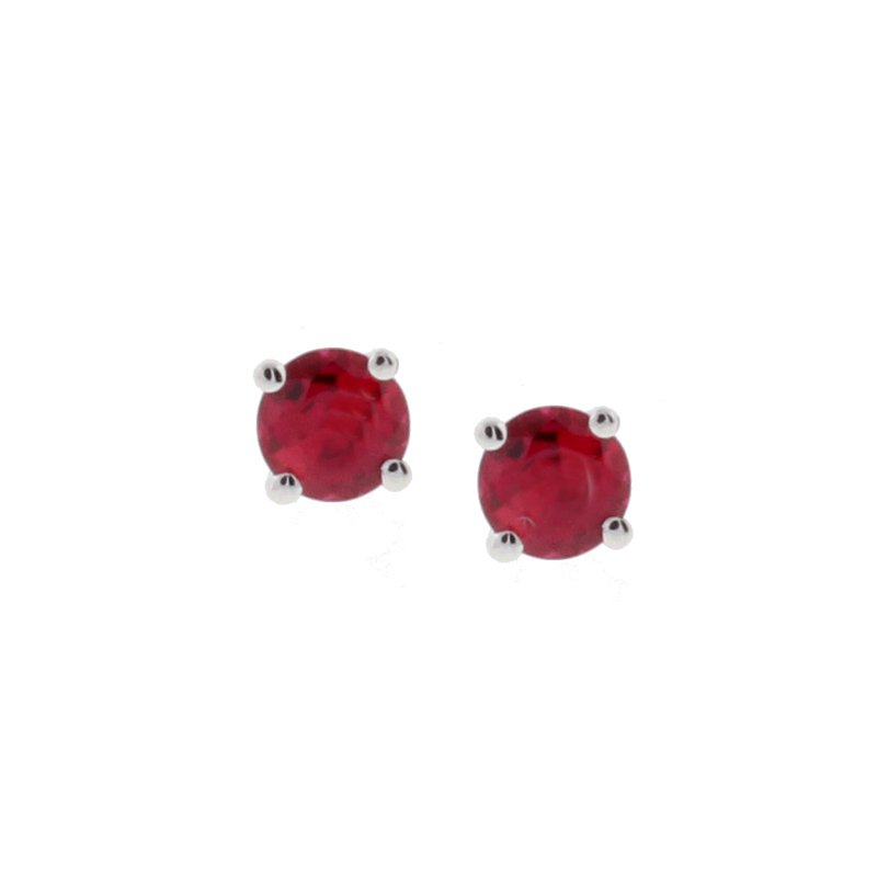 Kelley Collection  Ruby Studs
