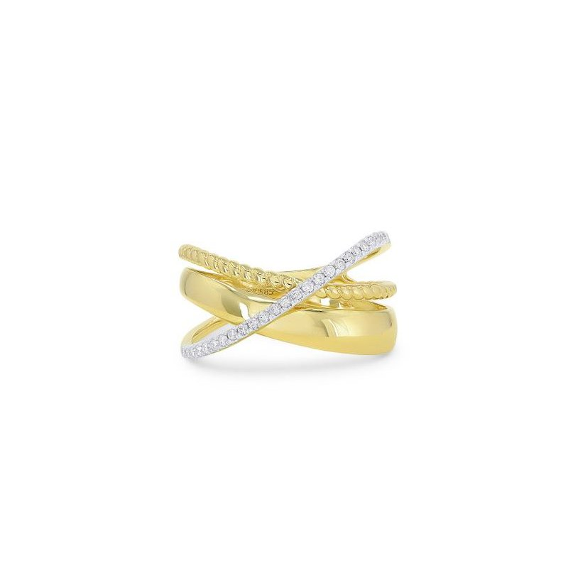 Kelley Collection  Diamond Bypass Ring