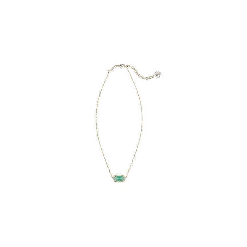 Kendra Scott Elisa in Emerald Cat's Eye
