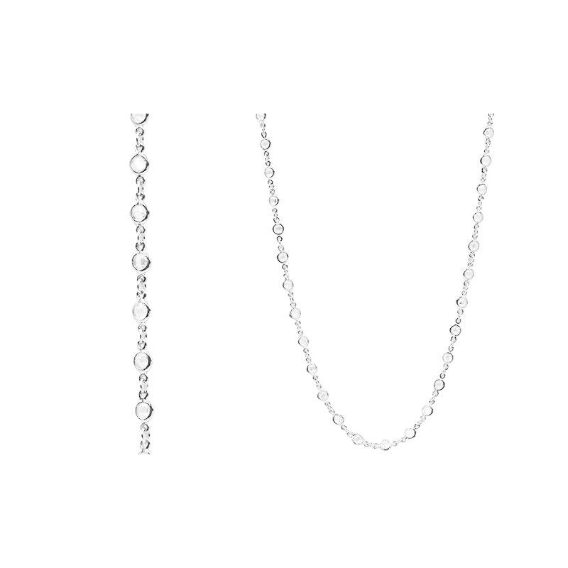 Freida Rothman Embellished Wrap Chain Necklace