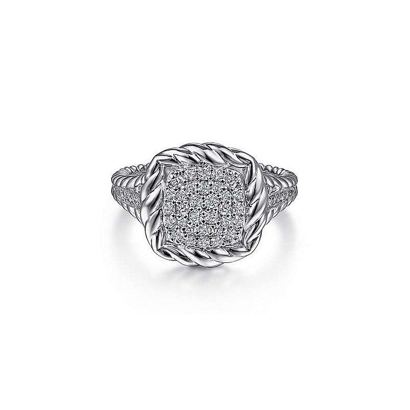 Gabriel NY Fine Jewelry Sapphire Ring