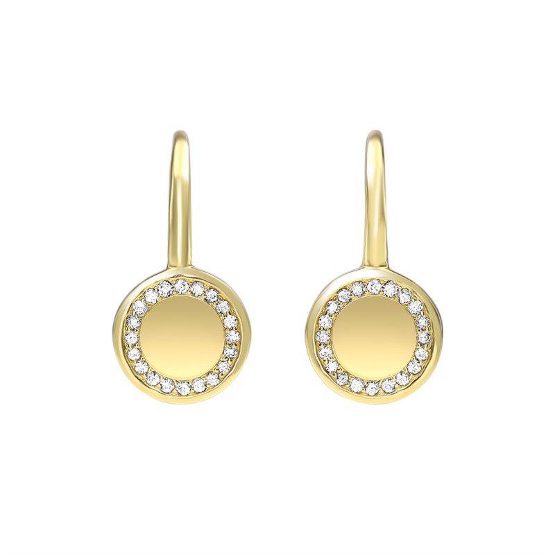 Kelley Collection  Diamond Earrings