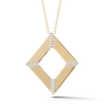 Open Diamond Pendant