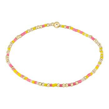 Hope Unwritten Bracelet - Pink Lemonade