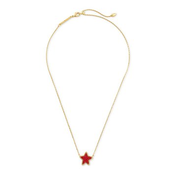 Jae Star in Red Drusy