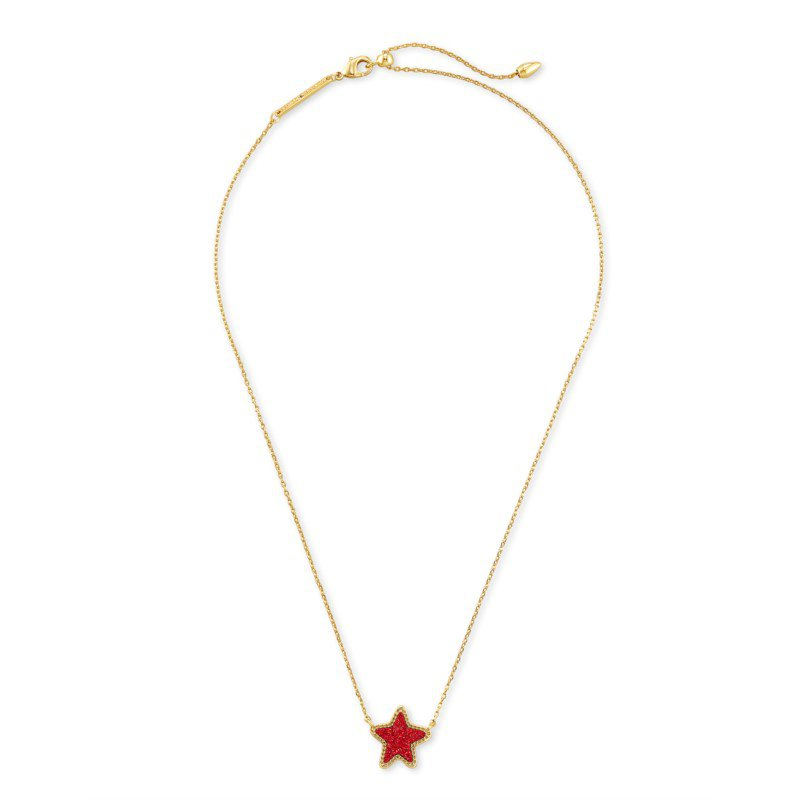 Kendra Scott Jae Star in Red Drusy