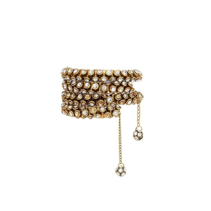 BuDhaGirl Crystal Wrap Bracelet