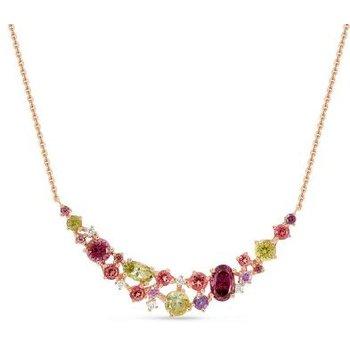 Multi Gemstone & Diamond Necklace
