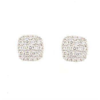 Diamond Pave Studs