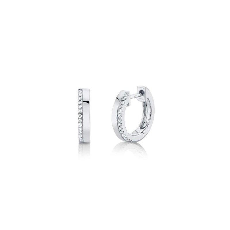Kelley Collection  Diamond Huggie Earrings