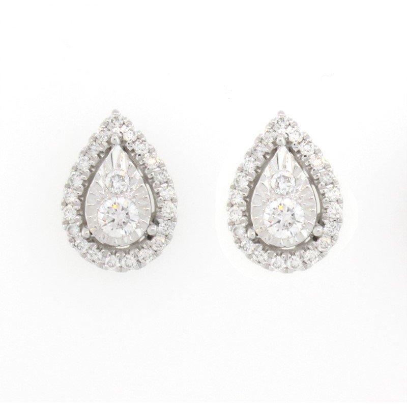 Kelley Collection  Diamond Stud Earrings