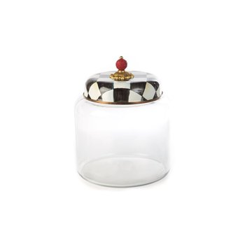 Courtly Check Storage Canister - Big