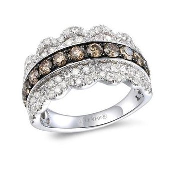 Creme Brulee® Nude Diamond™ & Chocolate Diamond® Ring