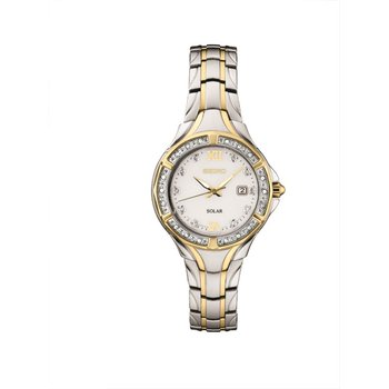 Ladies Two-Tone Solar Watch