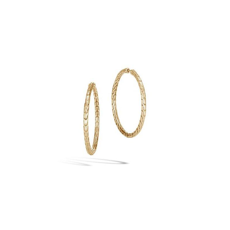 John Hardy Classic Chain Medium Hoop Earring