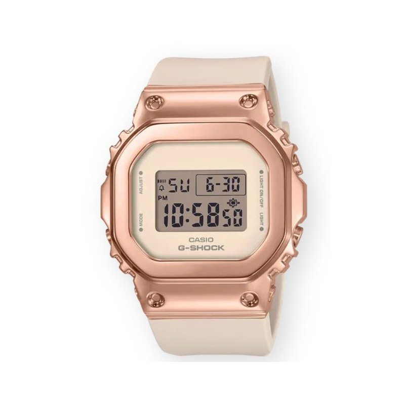 G-Shock G-Shock Square 5600 Series with Pink Metal Cover