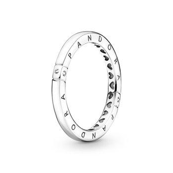 Logo & Hearts Ring