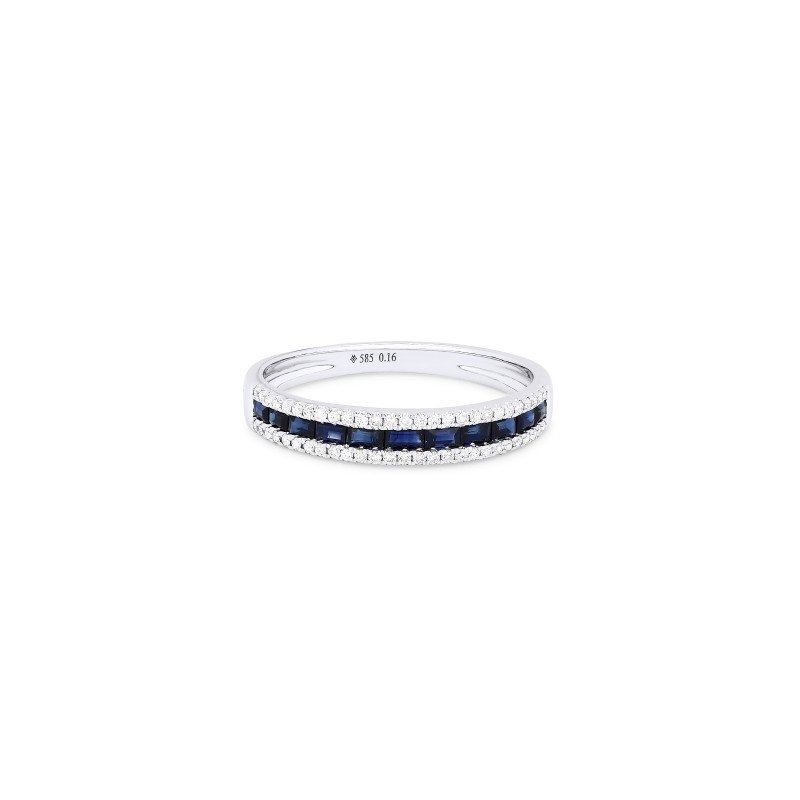 Kelley Collection  Diamond & Sapphire Ring