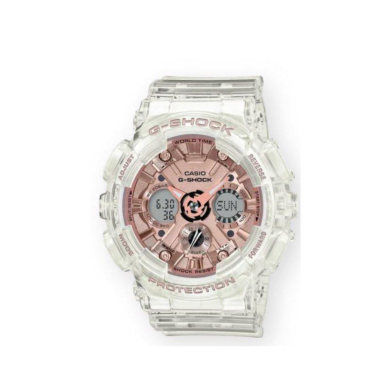 G-Shock G-Shock Transparent Analog/Digital in Rose Gold  Metallic