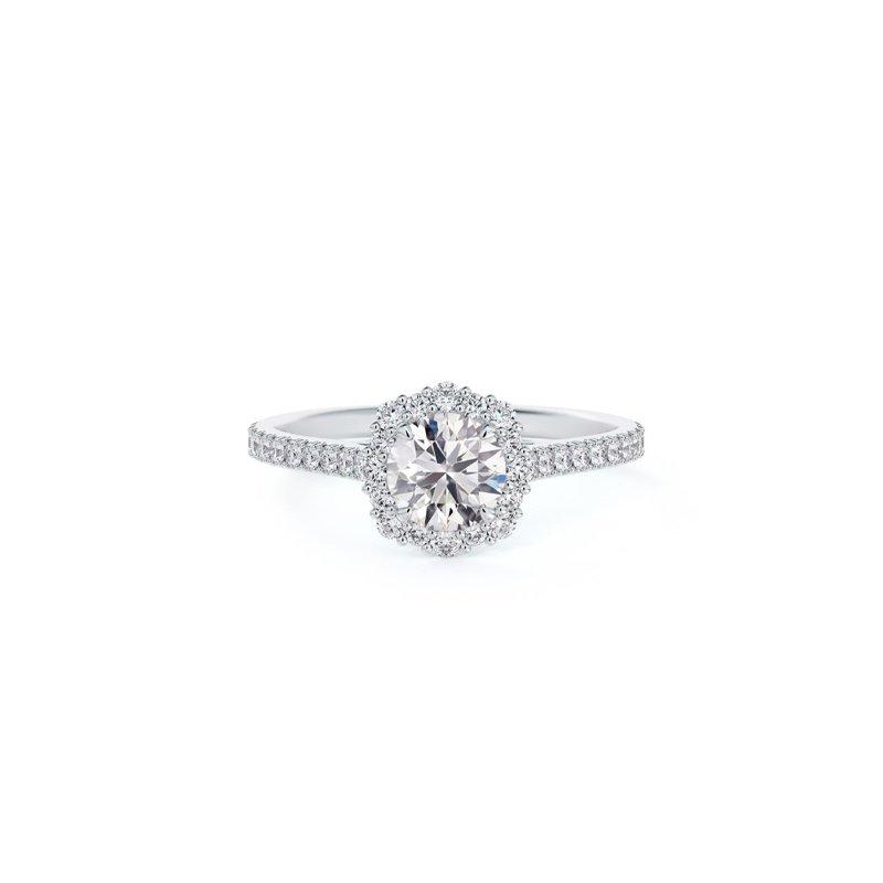 Forevermark Center Of My Universe® Diamond Halo Ring