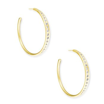 Selena Hoop in Gold