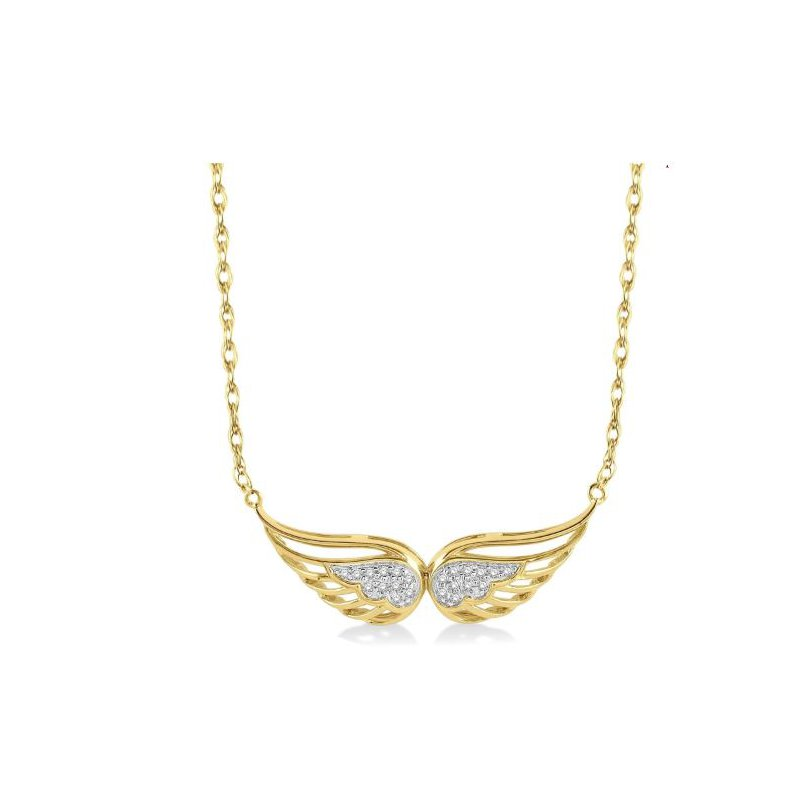 Kelley Collection  Angel Wing Necklace