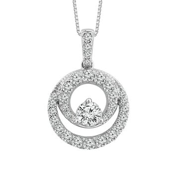 Close 2gether Diamond Pendant