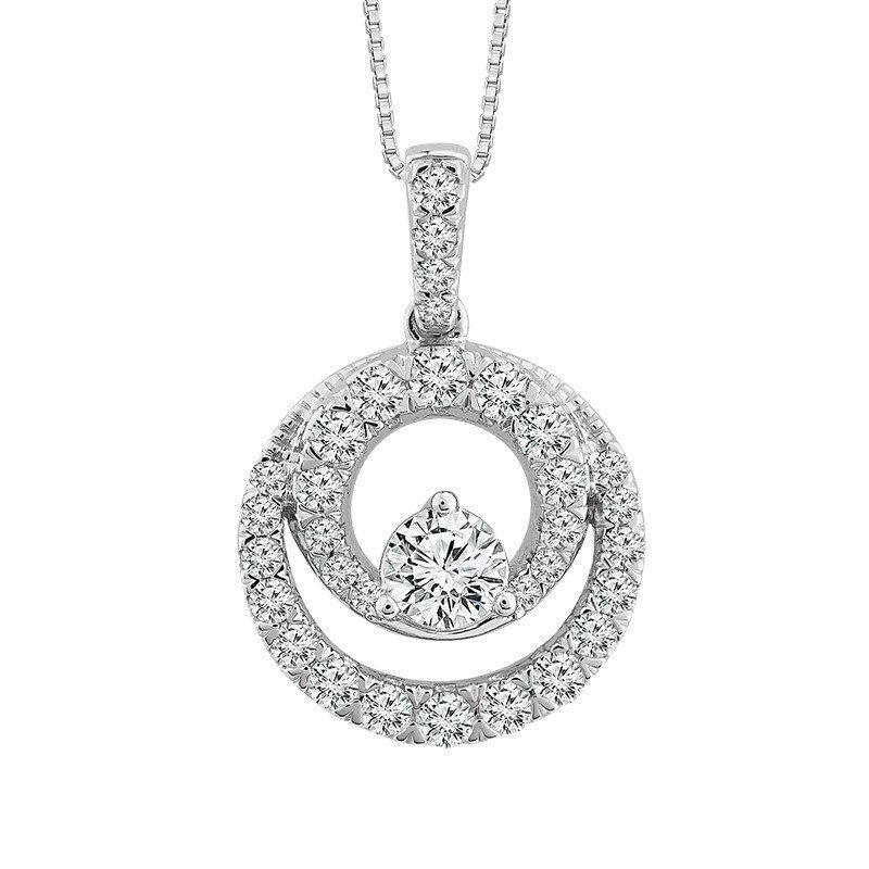 Kelley Collection  Close 2gether Diamond Pendant