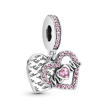 Heart & Mom Dangle Charm