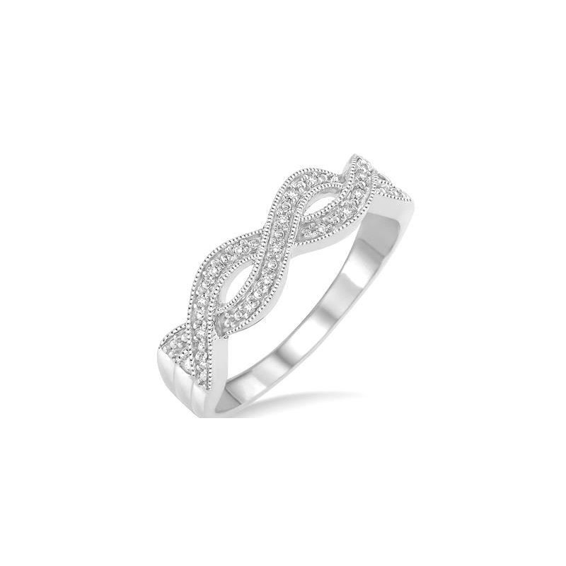 Kelley Collection  Diamond Infinity Ring