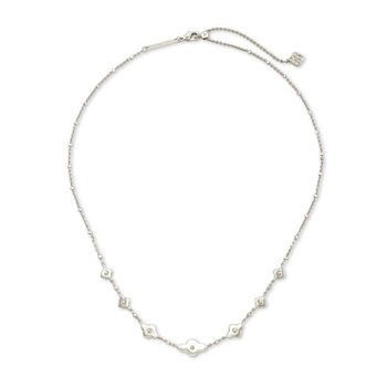 Abbie Strand Necklace in Silver