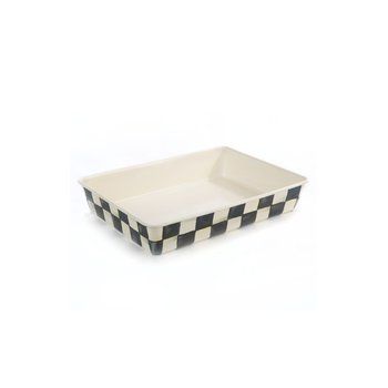 "Courtly Check Enamel Baking Pan - 9"" x 13"""