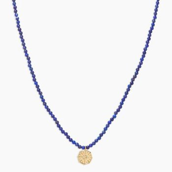Power Gemstone Necklace for Wisdom