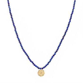 Power Gemstone Necklace for Wisdom