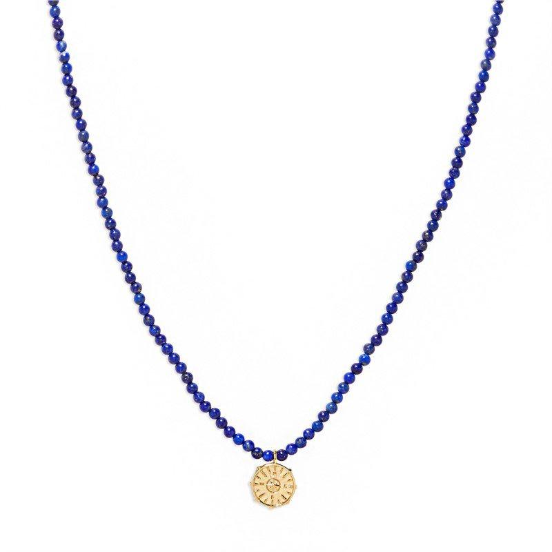 Gorjana Power Gemstone Necklace for Wisdom