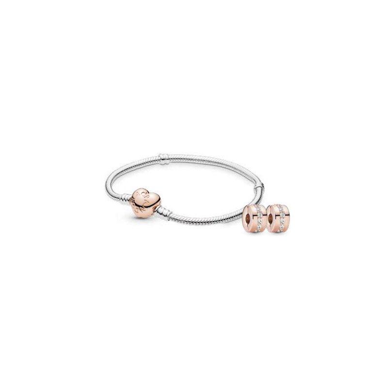 PANDORA Iconic Heart Clasp Gift Set