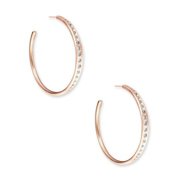 Selena Hoop in Rose Gold