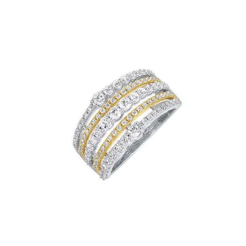 Kelley Collection  5-Row Diamond Ring
