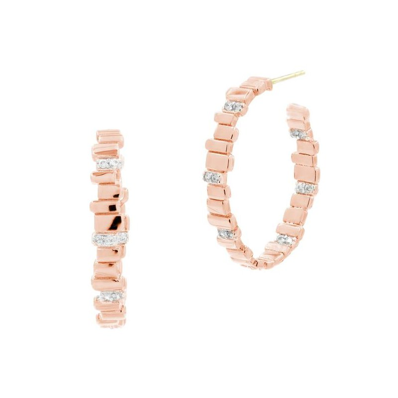Freida Rothman Radiance Hoop Earring