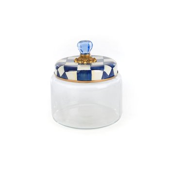 Royal Check Kitchen Canister - Medium