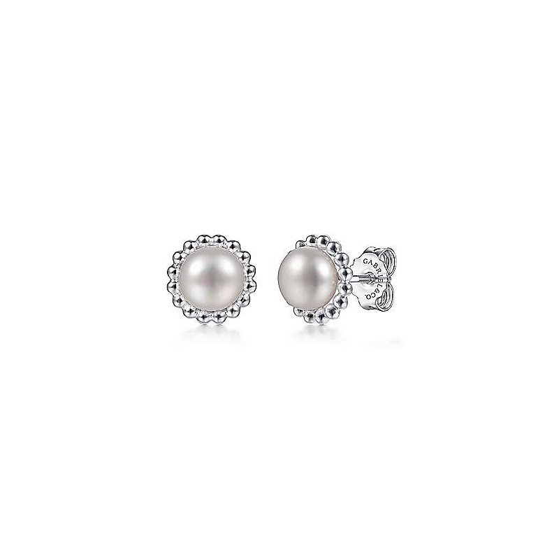 Gabriel NY Fine Jewelry Pearl Stud Earrings