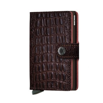 Miniwallet in Nile Brown