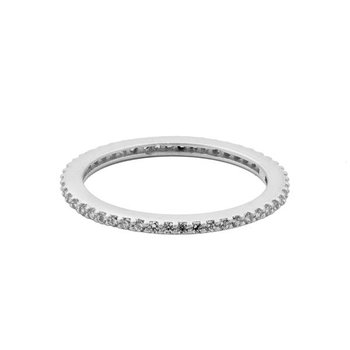 All Pavé Stackable Ring