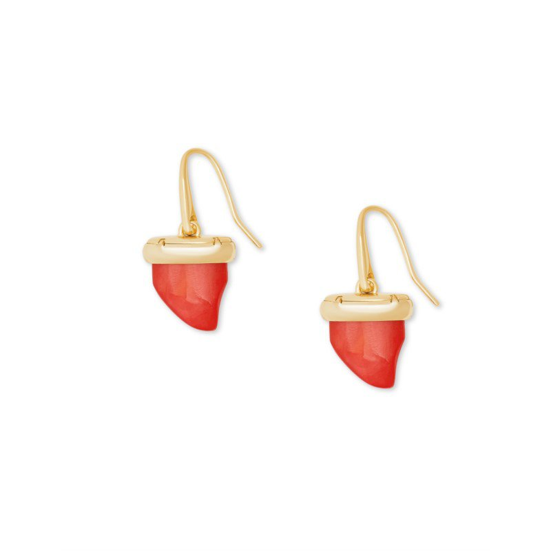 Kendra Scott Oleana in Red Mother of Pearl