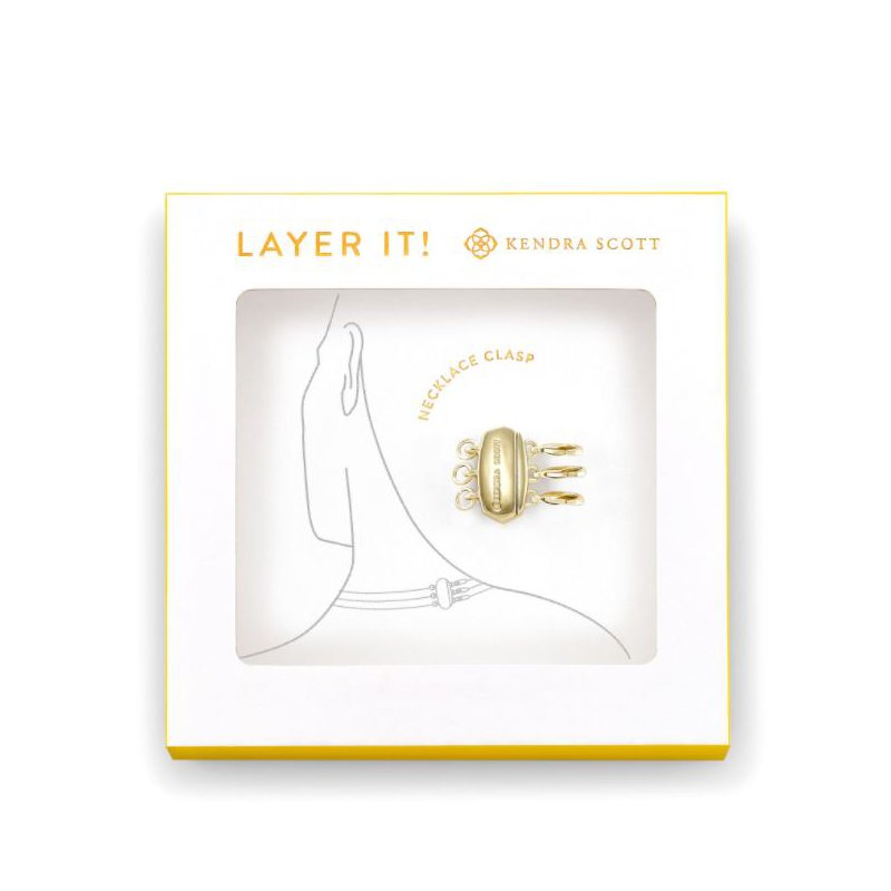 Kendra Scott Necklace Clasp in Gold