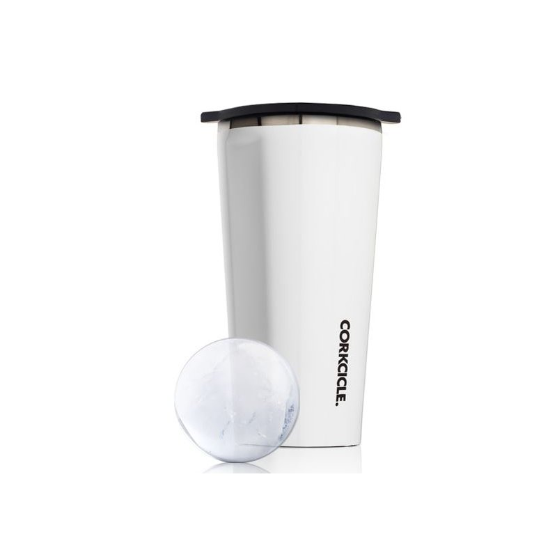 Corkcicle Corckcicle Invisiball With Gloss White Tumbler