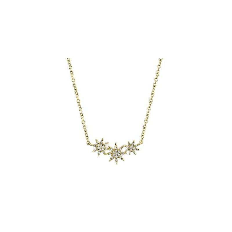 Kelley Collection  Diamond Star Necklace